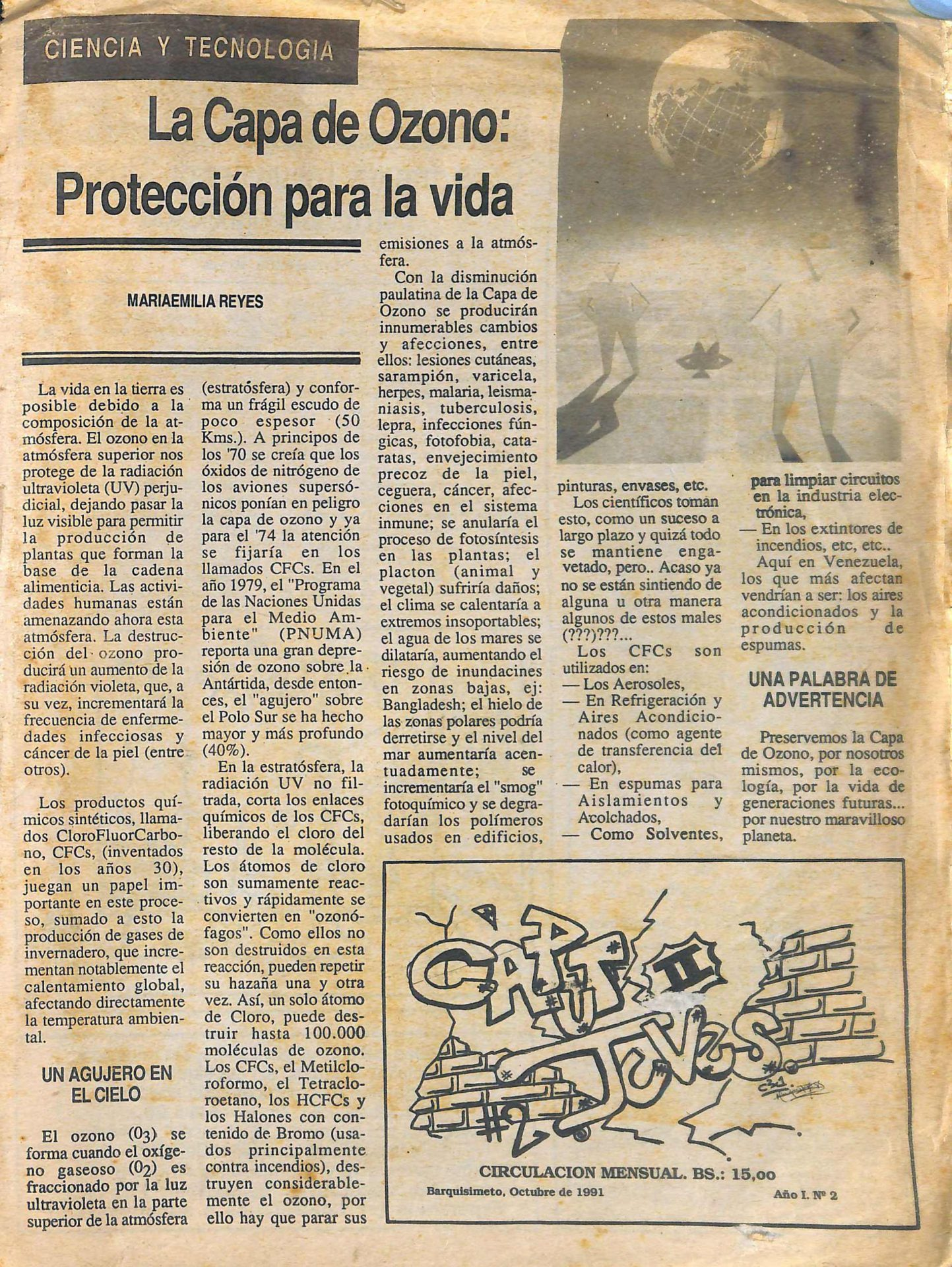 Caput Juves No. 2, 1991