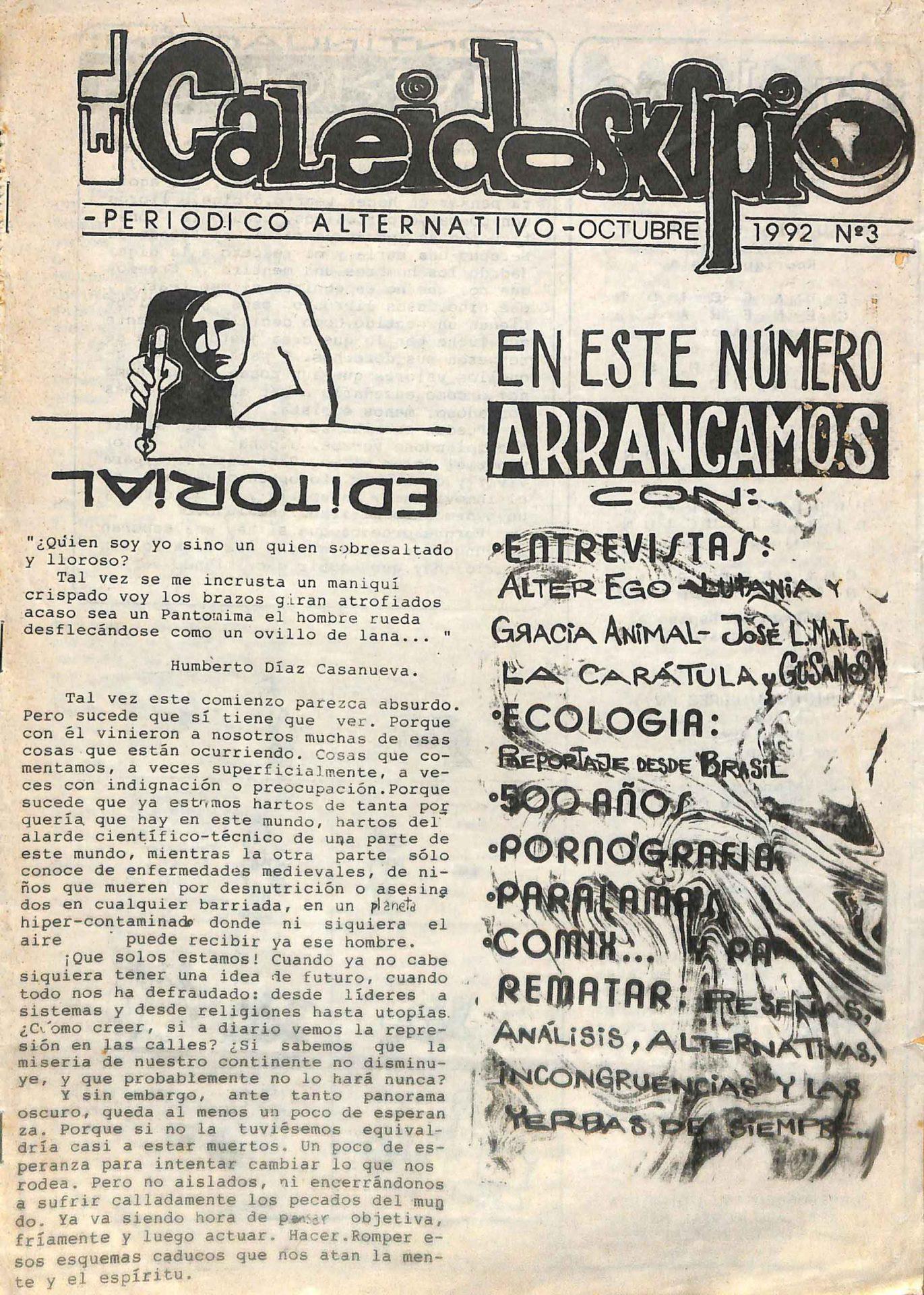 El Caleidoskopio No. 3, 1992