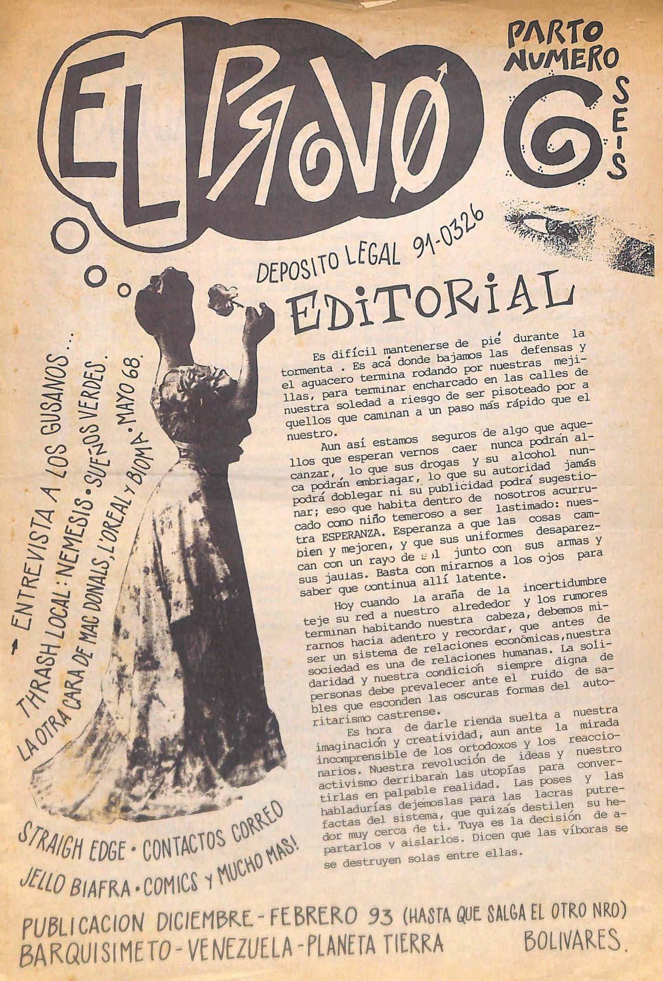El Provo No. 6, 1993