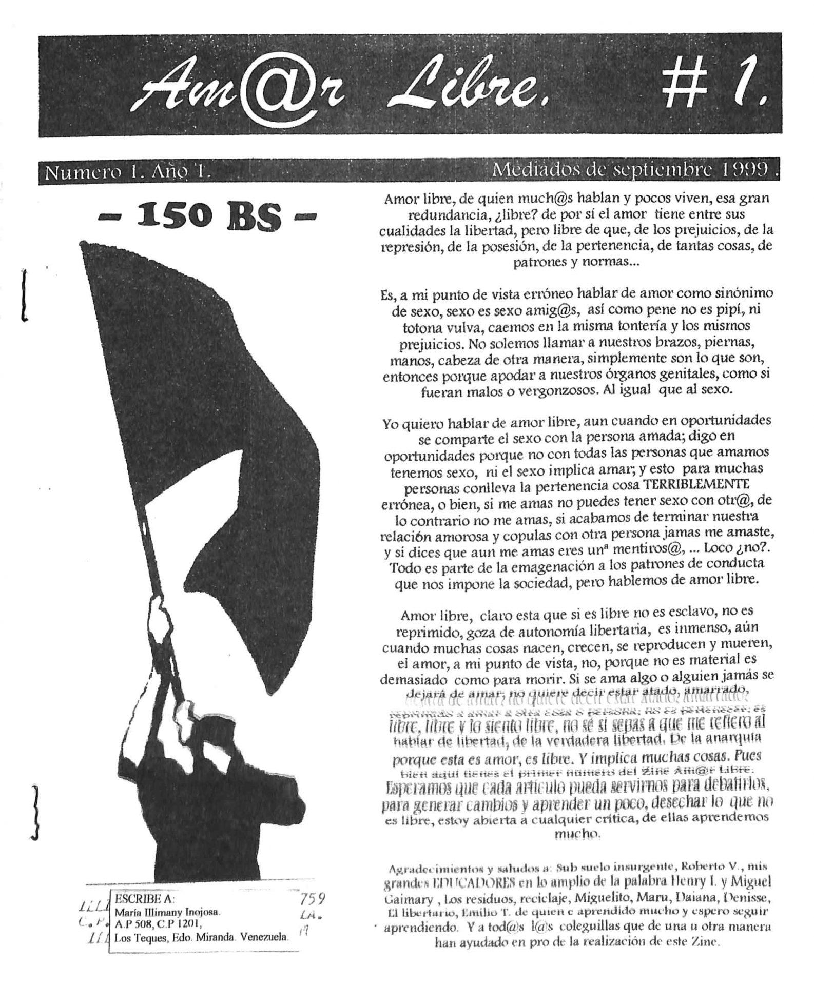 Amor Libre No. 1, 2000