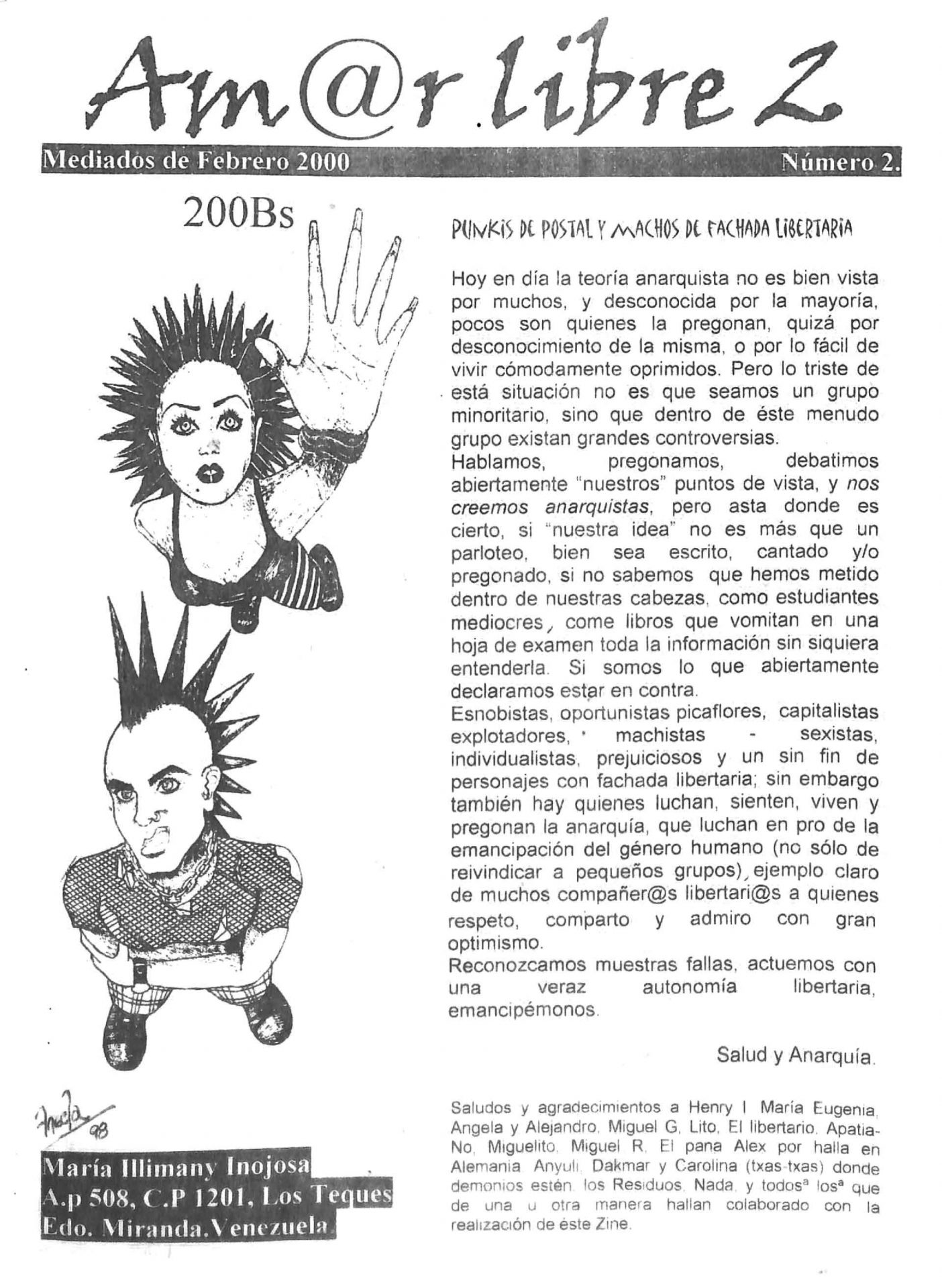 Amor Libre No. 2, 2000
