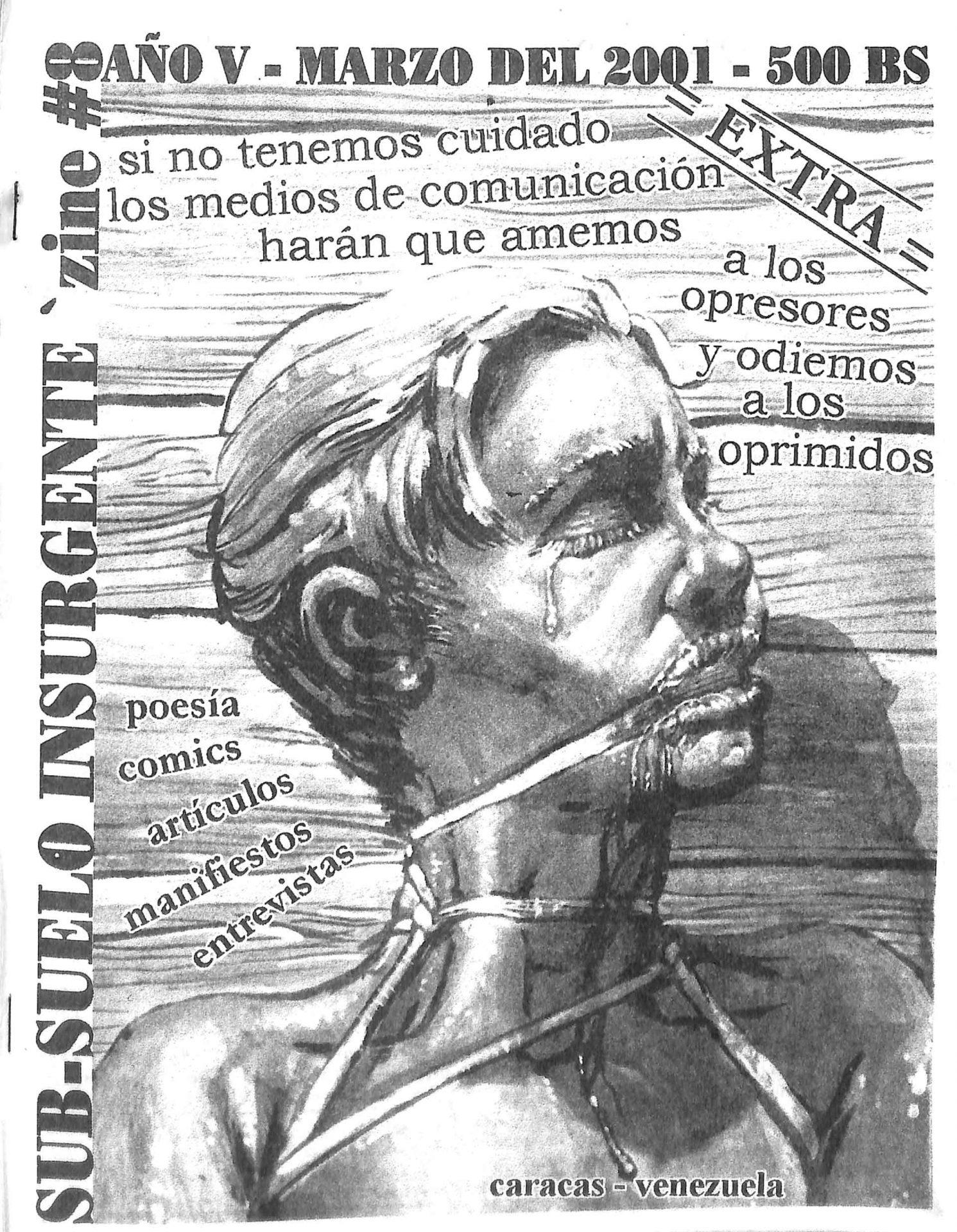Sub-suelo Insurgente Zine No. 8, 2001